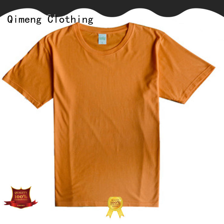 QiMeng high-quality mens t shirts owner for sports