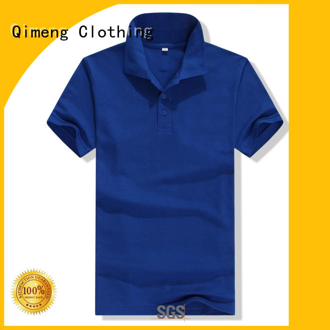 QiMeng new-selling golf polo shirt directly sale for promotional campaigns