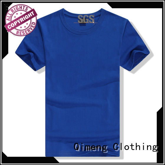 QiMeng tee personalized t shirt price in street
