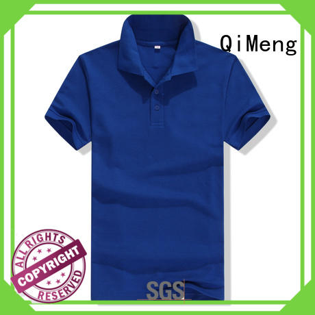 QiMeng latest-arrival men golf polo shirt producer for outdoor activities
