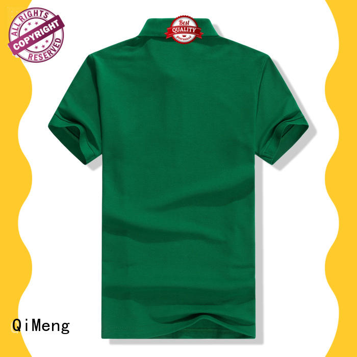 QiMeng nice cotton polo shirts mens for outdoor activities