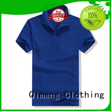 QiMeng first-rate polyester polo t shirts from China for promotional campaigns