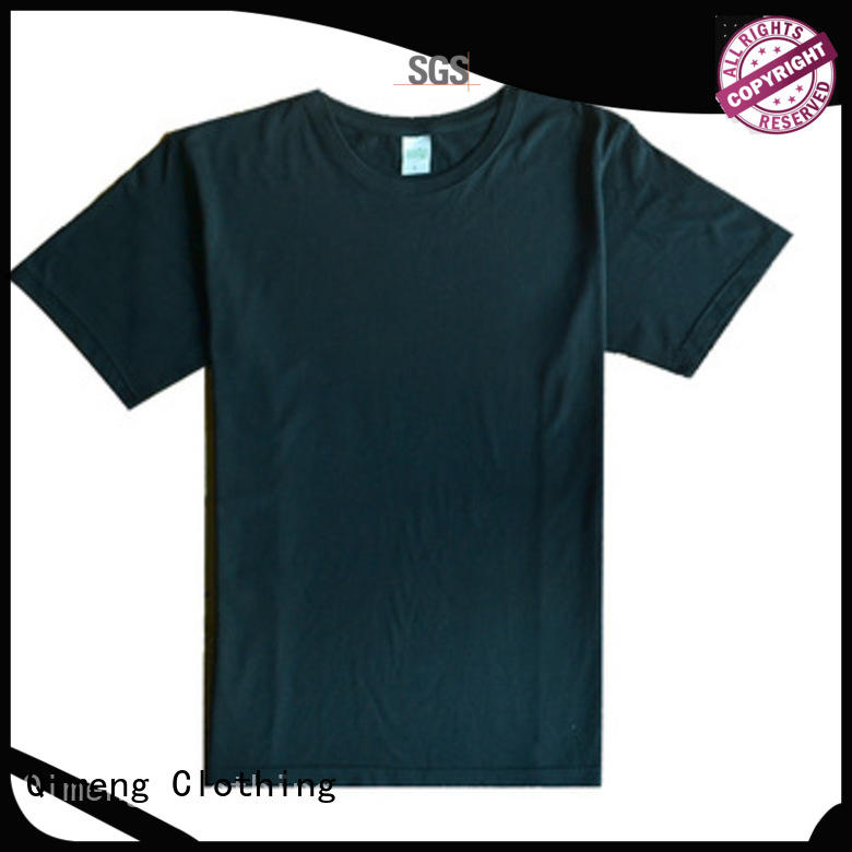 QiMeng quality custom printed t shirts supplier for outdoor activities