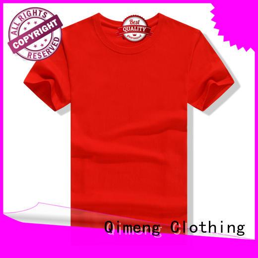 QiMeng 100%cotton women t-shirts for sports