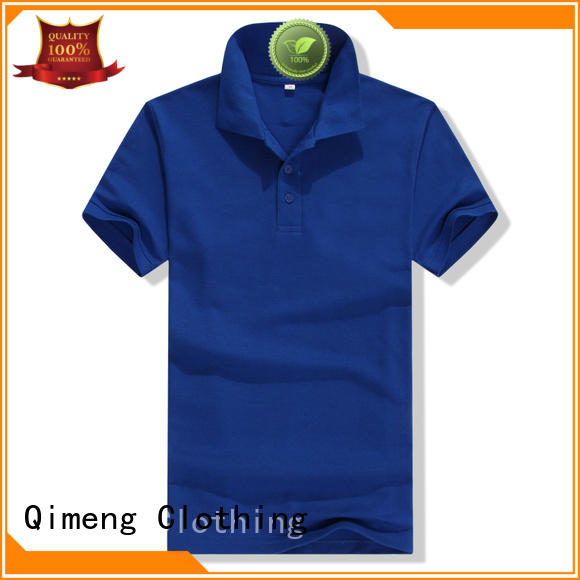 QiMeng first-rate cotton polo shirts mens vendor