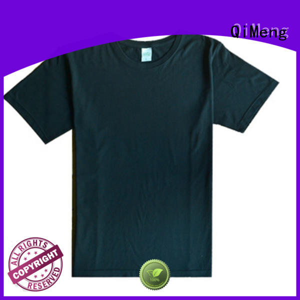 QiMeng 100%cotton mens t shirts for-sale for sports