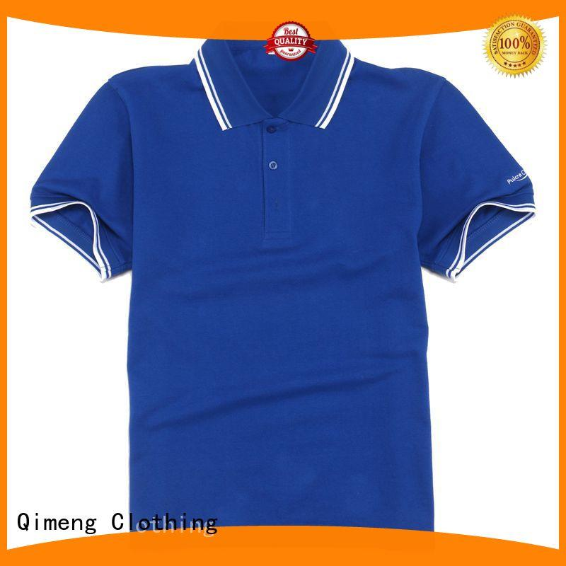 QiMeng quality custom polo shirts factory price for business meetings