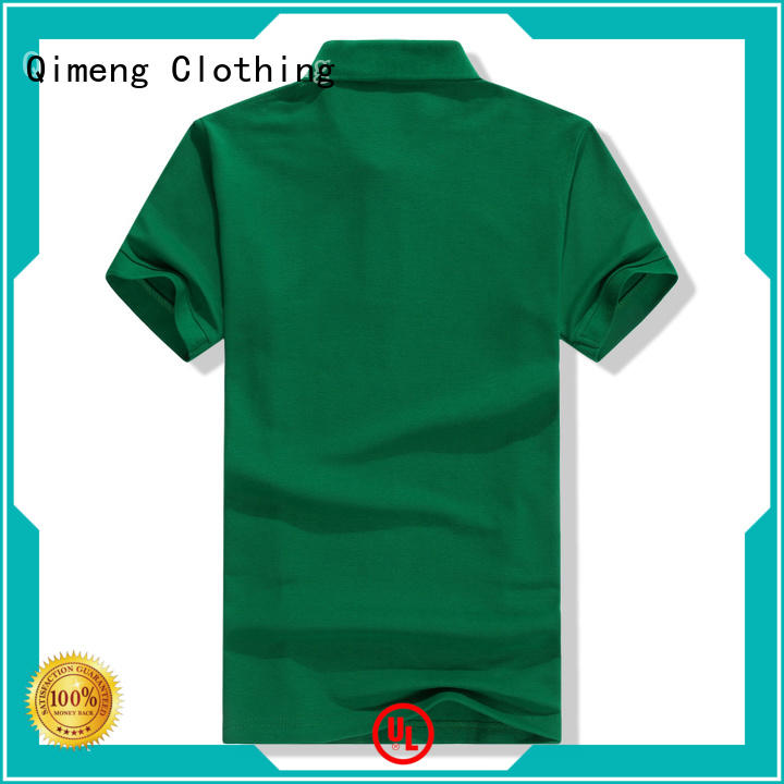 QiMeng modern ladies polo t shirts button design for outdoor activities