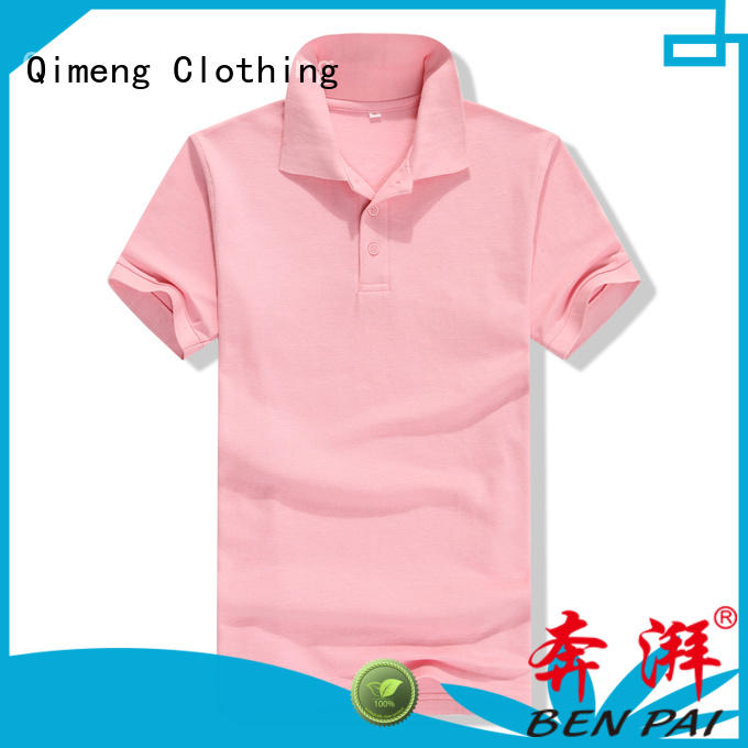 QiMeng sale wholesale polo shirts in different color for daily wear