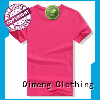 QiMeng style screen printed t-shirts experts for daily wear