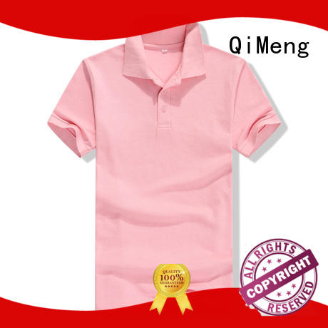 QiMeng hot-selling personalized polo shirts vendor  for business meetings