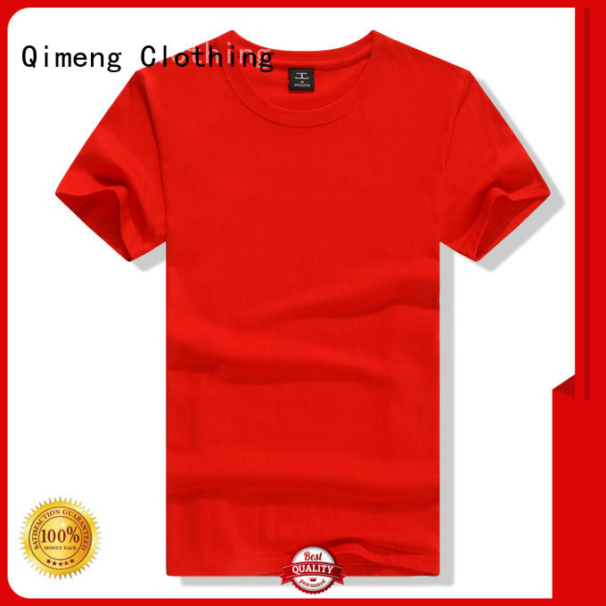 QiMeng mens plain t-shirts supplier for sports