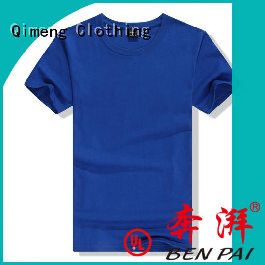 QiMeng modern custom printed tshirts owner for promotional campaigns