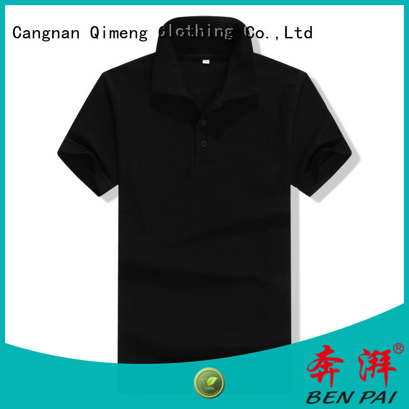 QiMeng sport cotton polo shirts mens directly sale for daily wear