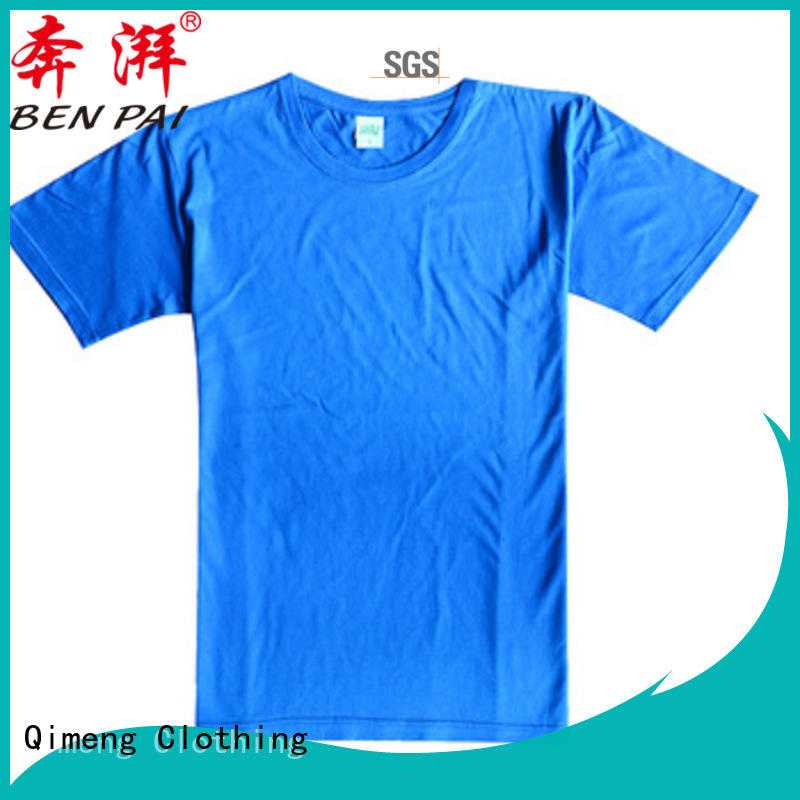 QiMeng O-neck funny t shirts supplier for sports